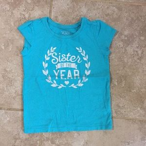 Sister of the Year T Shirt